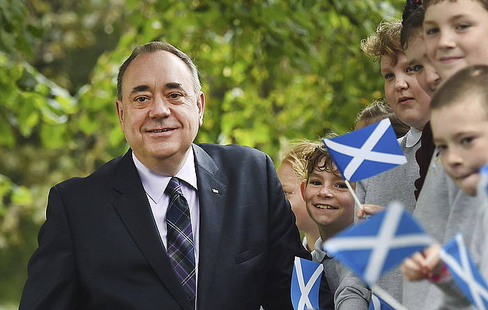 Alex Salmond, irribarretsu