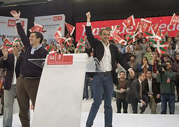 Lopez eta Zapatero, Gasteizen