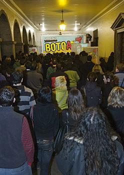 Ezker abertzalearen ekitaldia Azpeitian, otsailaren 26an