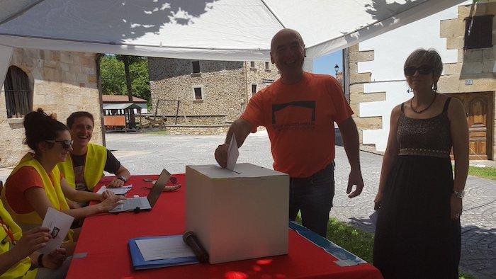 Nafarroako 24 udalerritan galdeketak. Ziordia