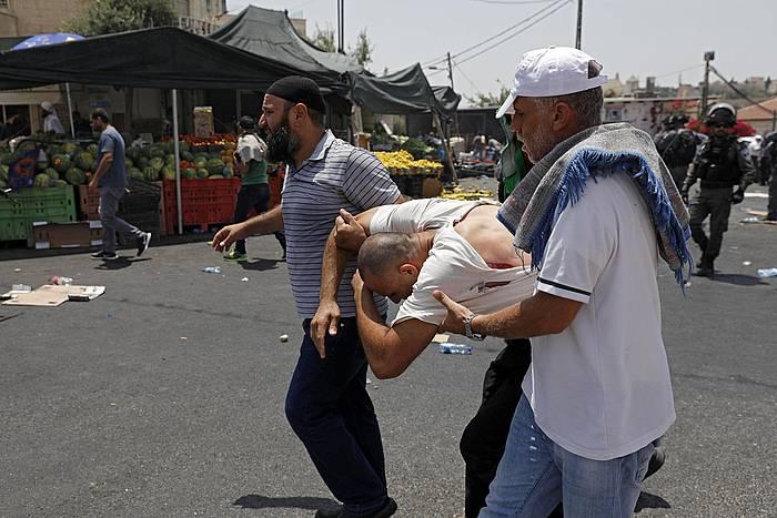 Palestinar zauritu bat
