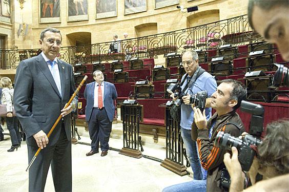 Jose Luis Bilbao (EAJ), Bizkaiko ahaldun nagusi izendatu berritan