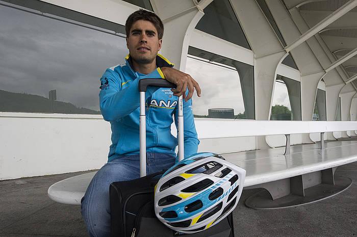 Mikel Landa Astana taldeko txirrindularia. ©Monika del Valle / Argazki Press