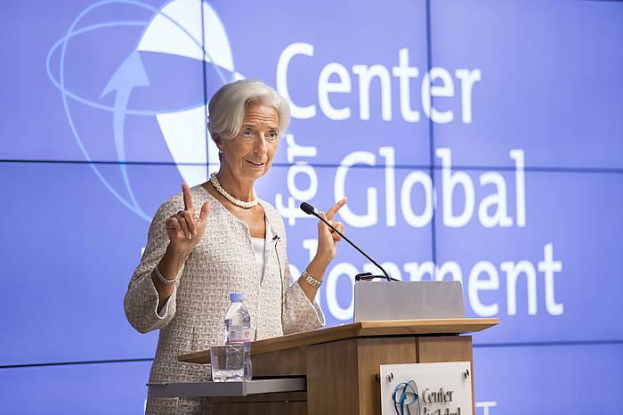 Christine Lagarde, uztailaren 31n. ©Stephen Jaffe / IMF HANDOUT