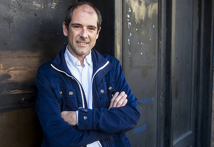 Paul Rios, Bilbon, martxoan. ©Luis Jauregialtzo / Argazki Press