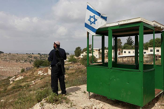 Israelgo kolono bat Bat Ainen, Zisjordanian. ©Nati Shohat / EFE