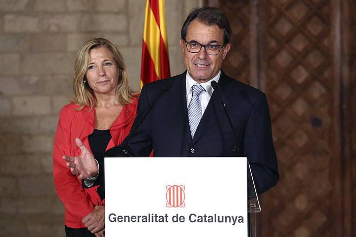 Artur Masek emango dio hasiera Kataluniako politika orokorrari buruzko eztabaidari. ©Jordi Bedmar / EFE