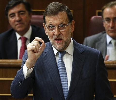 Mariano Rajoy, Espainiako Kongresuan. ©Chema Moya / EFE