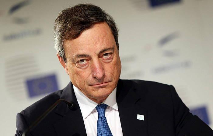 Mario Draghi, iragan astean. ©Matteo Bazzi / EFE
