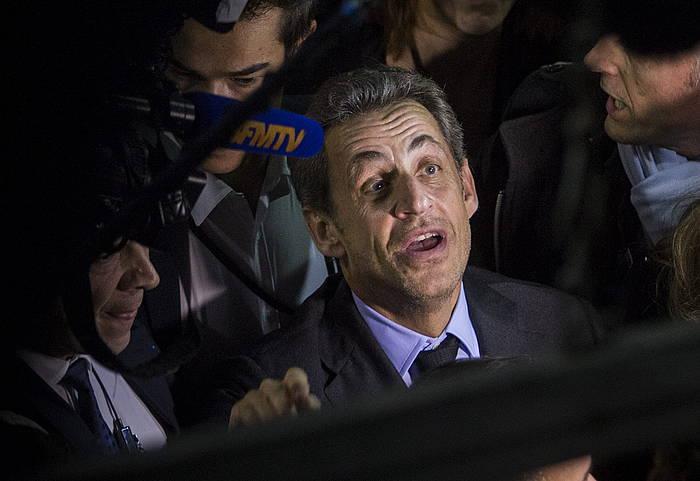 Nicolas Sarkozy, artxiboko irudi batean. / ©IAN LANGSDON / EFE