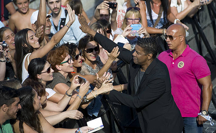 Denzel Washington, Donostian. / ©ANDONI CANELLADA / ARGAZKI PRESS