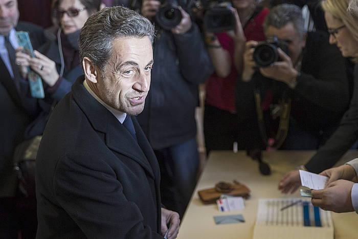 Nicolas Sarkozy, artxiboko irudi batean. / ©ETIENNE LAURENT, EFE