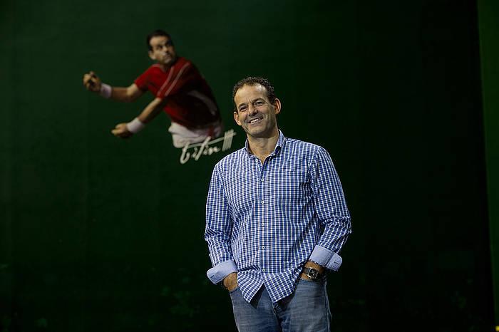 Augusto Ibañez Sacristan 'Titin'. ©Raul Bogajo / Argazki Press