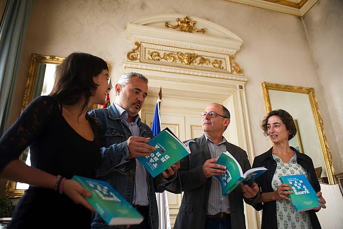 Emeki-emeki berdintasunezko Danborradarantz liburuaren aurkezpena. / ©Juan Carlos Ruiz, Argazki Press