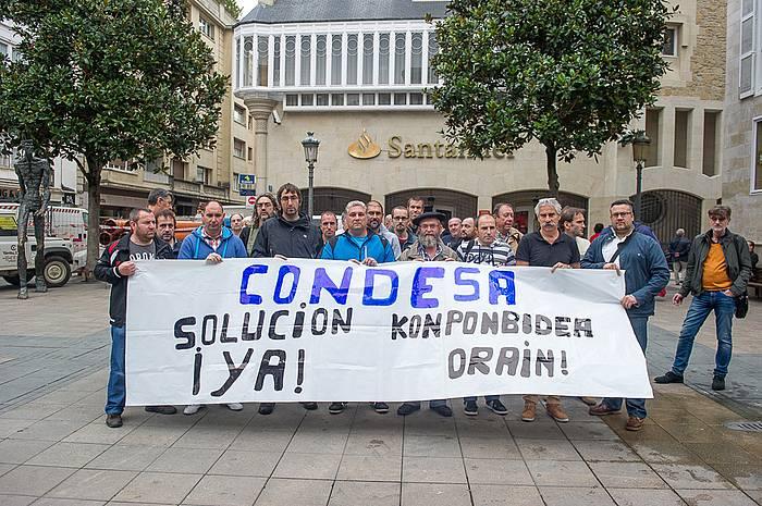 Condesako langileen ordezkariak, gaur. / ©Juanan Ruiz, ARP
