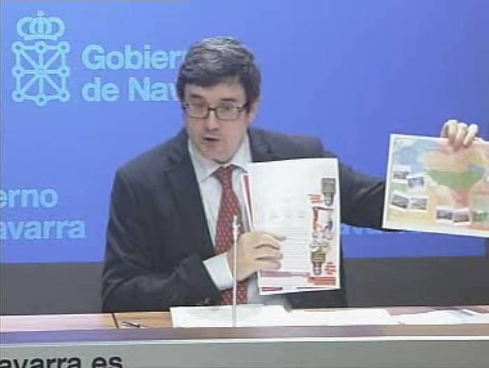 Jose Iribas, asteazkenean eginiko agerraldian. ©/ BERRIA