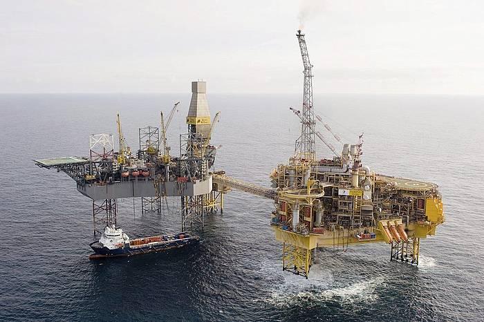 Petrolio ustiapen bat, Eskozian. / ©TOTAL E&P UK/HANDOUT