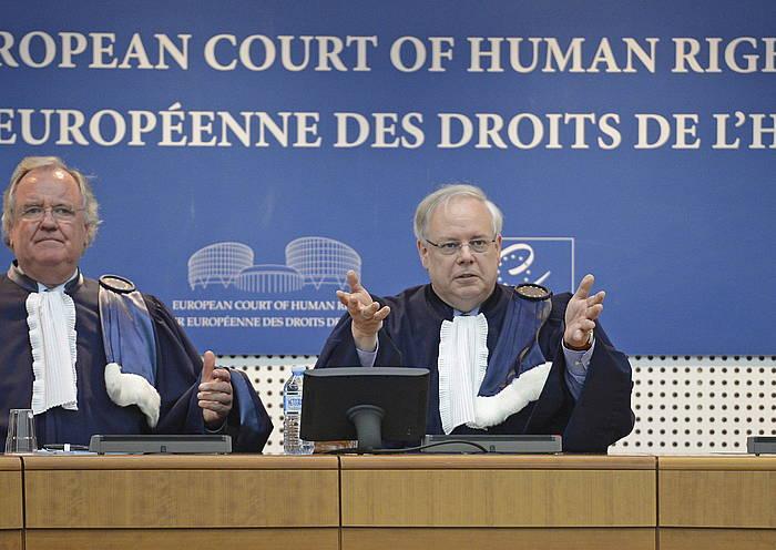 Parot doktrinaren kontrako ebazpena eman zuen duela urtebete Europako Giza Eskubideen Auzitegiak. / ©PATRICK SEEGER / EFE