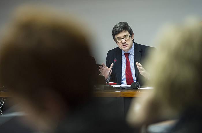 Jose Iribas, artxiboko irudi batean. / ©Jagoba Manterola, ARP