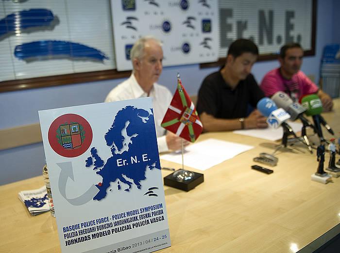 Erne sindikatuaren agerraldia, 2013ko apirilean. ©Marisol Ramirez / Argazki Press