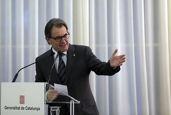 Artur Mas Generalitateko presidentea, atzo. / ©Alberto Estevez, EFE