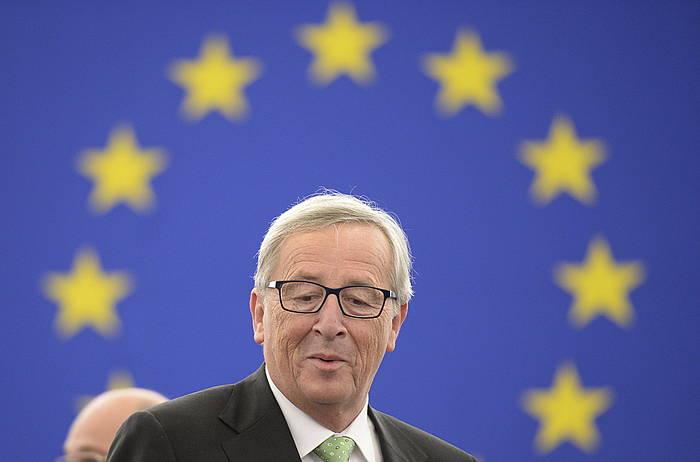 Jean Claude Juncker Europako Batzordeko presidentea. ©Patrick Seeger / EFE