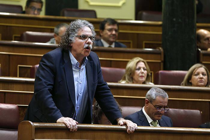 Joan Tarda, ERCko diputatua Madrilen. ©Javier Lizón / EFE