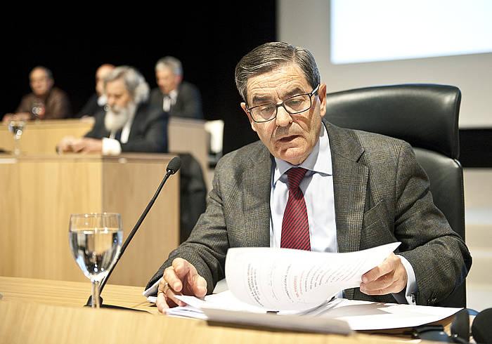 Mario Fernandez, artxiboko irudi batean. / ©JON HERNAEZ / ARGAZKI PRESS