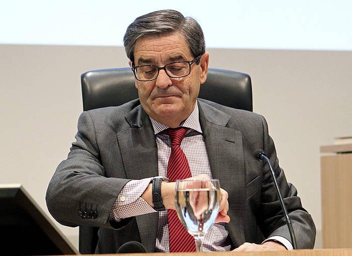 Mario Fernandez Kutxabankeko presidente ohia, artxiboko irudi batean. ©Alfredo Aldai / EFE