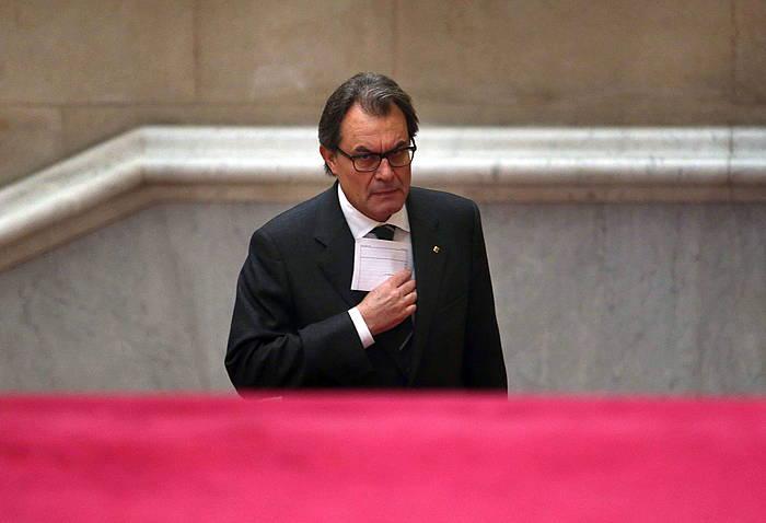 Artur Mas. / ©TONI ALBIR / EFE
