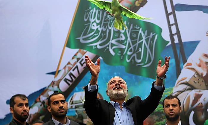 Ismail Haniyeh Hamaseko burua. ©Mohammed Saber / EFE