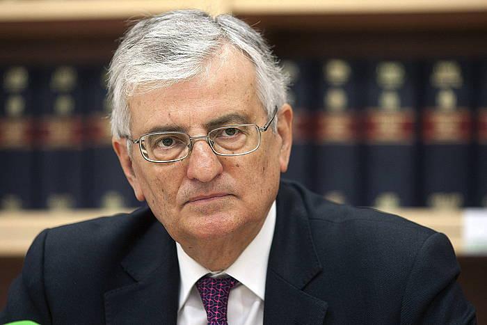 Eduardo Torres Dulcek dimisioa eman du Espainiako fiskal nagusi kargutik. ©Domenech Castello / EFE