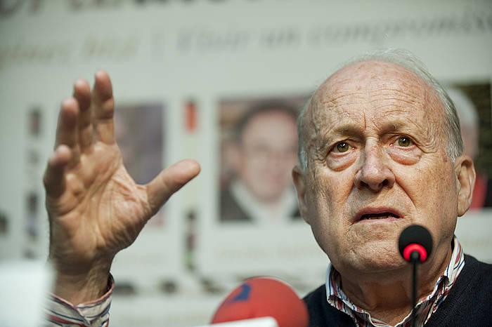 Xabier Arzalluz, artxiboko irudi batean. ©Jon Urbe / Argazki Press