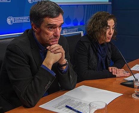 Jonan Ferandez eta Cristina Uriarte. ©Juanan Ruiz / Argazki Press