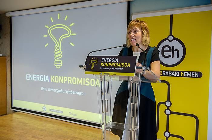 Energia berriztagarrien aldeko apustua egn du EH Bilduk. ©/ Argazki Press