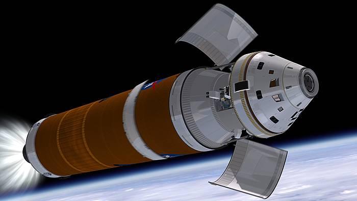 'Orion' espaziontzia. ©/ NASA