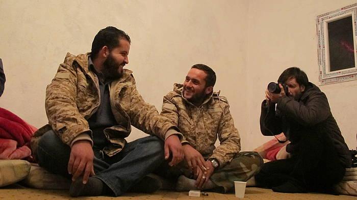 Ricardo Garcia Vilanova argazkilaria Libian. ©/ Karlos Zurutuza