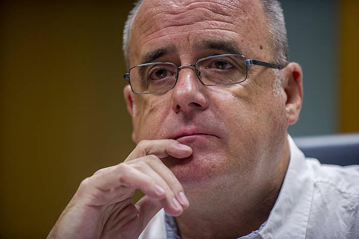 Joseba Egibar, Gipuzkoa Buru Batzarreko presidentea. ©Juanan Ruiz / Argazki Press