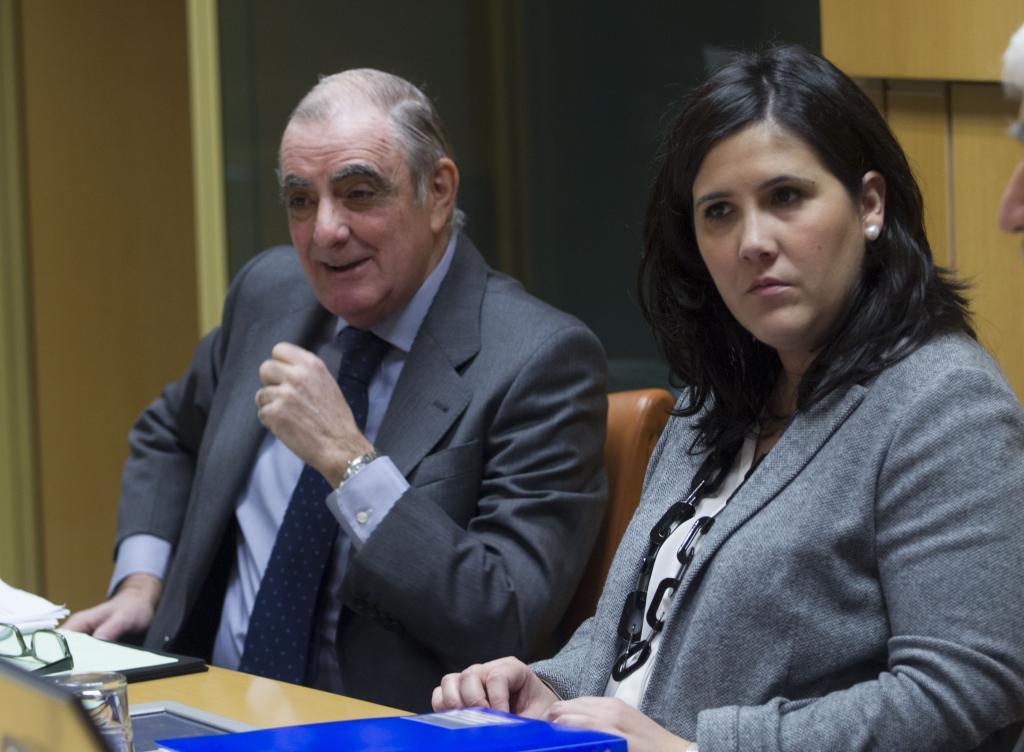 Ramon Rabanera eta Jone Berriozabal, autogobernu lantaldean. ©/ Eusko Legebiltzarra