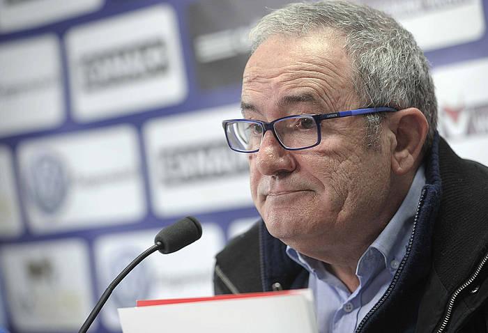 Luis Sabalza, Osasuneko presidentea. ©VILLAR LÓPEZ / EFE