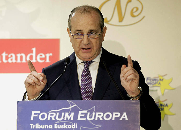 Miguel Angel Lujua, Confebaskeko presidentea./ ©Alfredo Aldai, Efe
