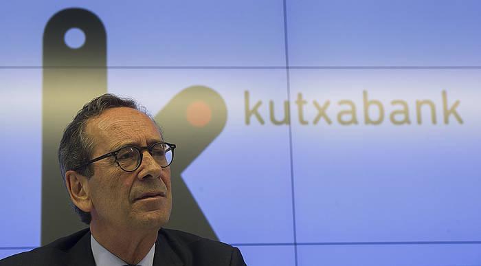 Gregorio Billalabeitia Kutxabankeko presidentea./ ©Luis Jauregialtzo, Argazki Press