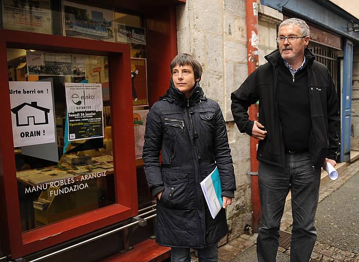 Amaia Muñoa eta Adolfo Muñoz./ ©Gaizka Iroz, Argazki Press
