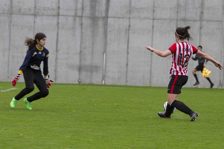 Bi gol egin ditu Yulema Corresek. ©/ Athletic