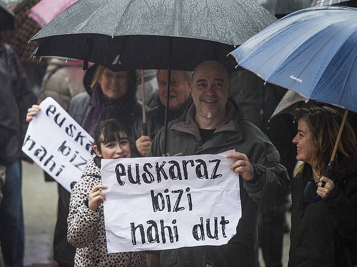 Kontseiluak iragan larunbatean Donostian deituta manifestazioa./ ©Jon Urbe / Argazki Press