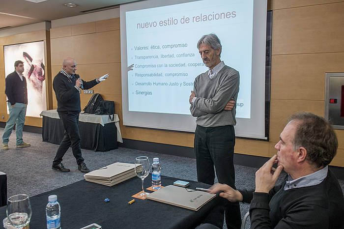 Ner taldeak kutxa propioa aurkeztu du: Kutxa Ner. ©Juan Carlos Ruiz / Argazki Press