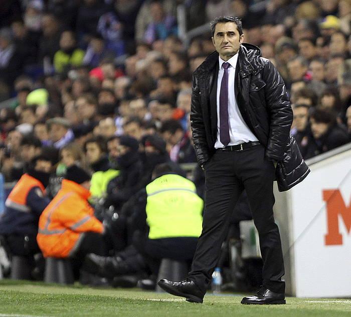 Ernesto Valverde, Athelticeko entrenatzailea. ©Toni Garriga / EFE