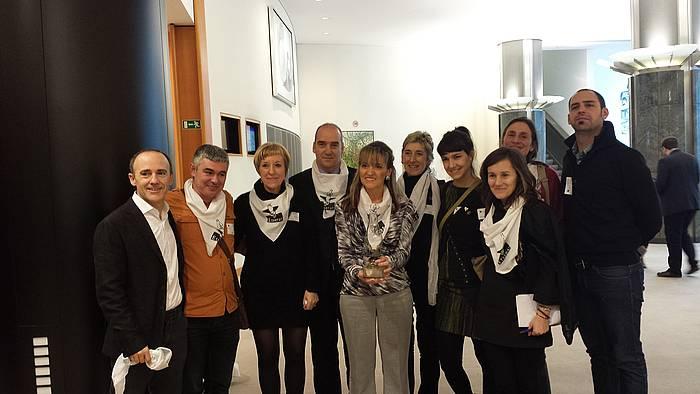 Etxerat-en ordezkaritza Europako Parlamentuan. ©/ Etxerat