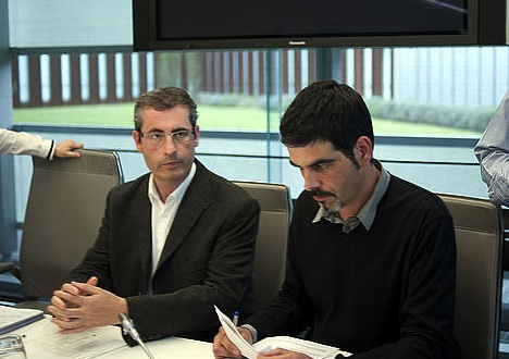 Markel Olano eta Eneko Goia./ ©Juan Carlos Ruiz, Argazki Press