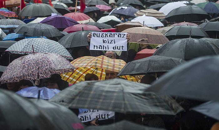 Kontseiluak joan den asteburuan Donostian eginiko manifestazioa./ ©Jagoba Manterola, Argazki Press
